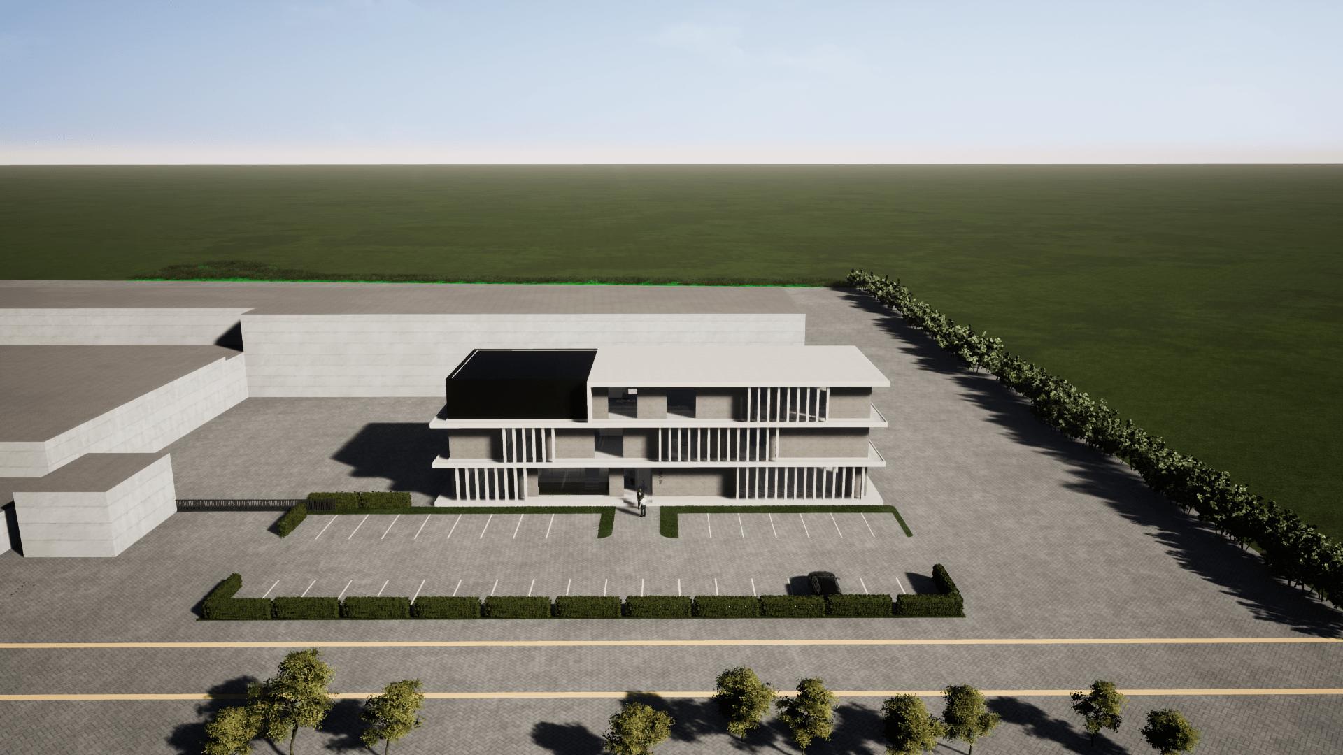 Nieuwe Kantoren Mevaco